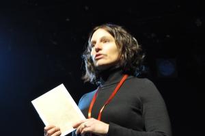 Olivia Lempen, psychologue et art-thérapeute, animatrice d'un atelier d'écriture